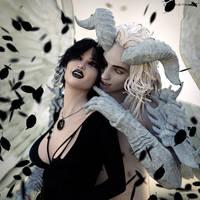 White demon inside me by Chanteur-de-Vent