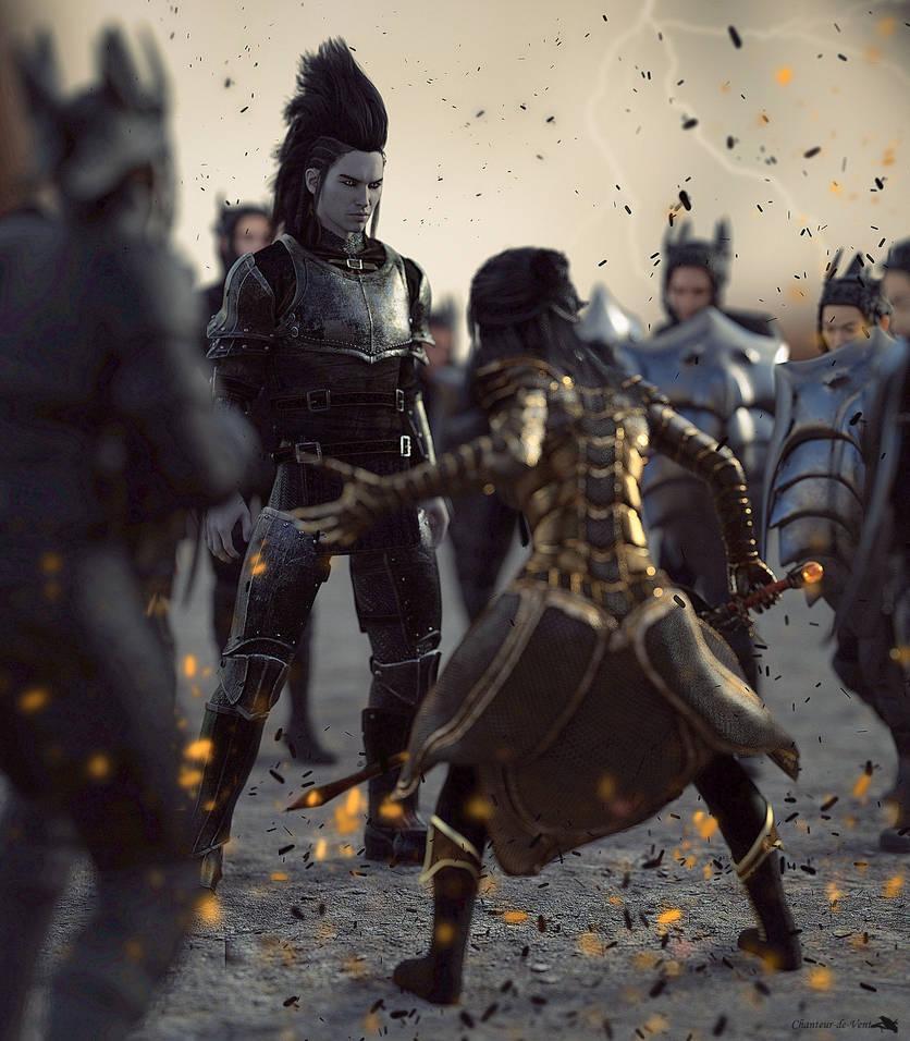 The last golden sword