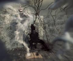 The memories of light and dark by Chanteur-de-Vent