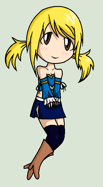 Lucy Heartfilia x791 colored by Gravity-Chan on deviantART