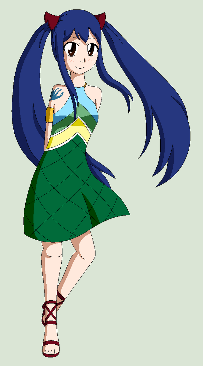 Wendy Marvell By Gravity Chan On DeviantArt
