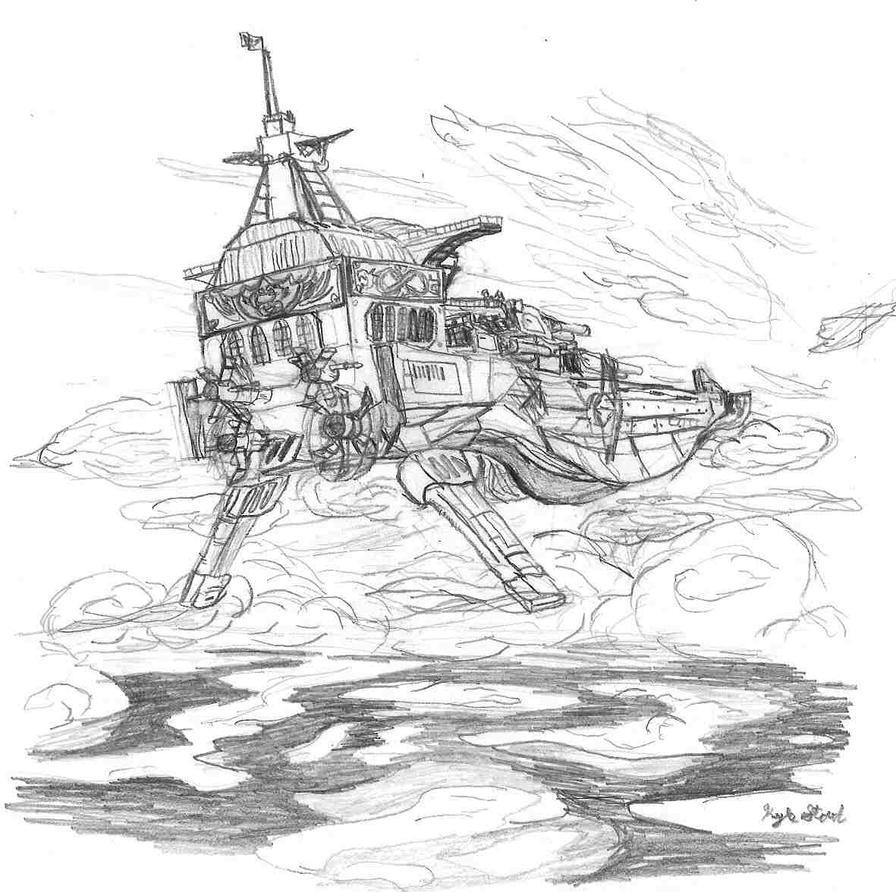 Flight of the Delphinus by VentusAerus
