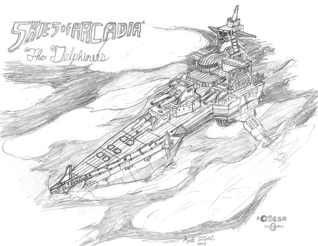 The Delphinus...Again. by VentusAerus