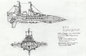 Steampunk Flagship by VentusAerus