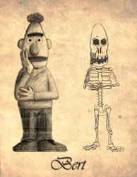 'Bert' - with skeleton