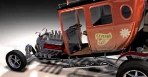 Tijuana Taxi rendering