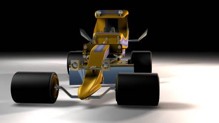 Groovy Grader 3D model by peterhirschberg