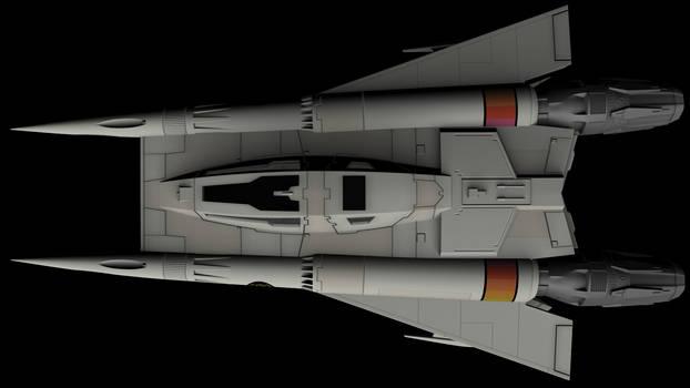 Buck Rogers Starfighter 08