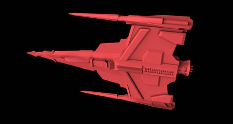 Buck Rogers Draconian Marauder 06 by peterhirschberg