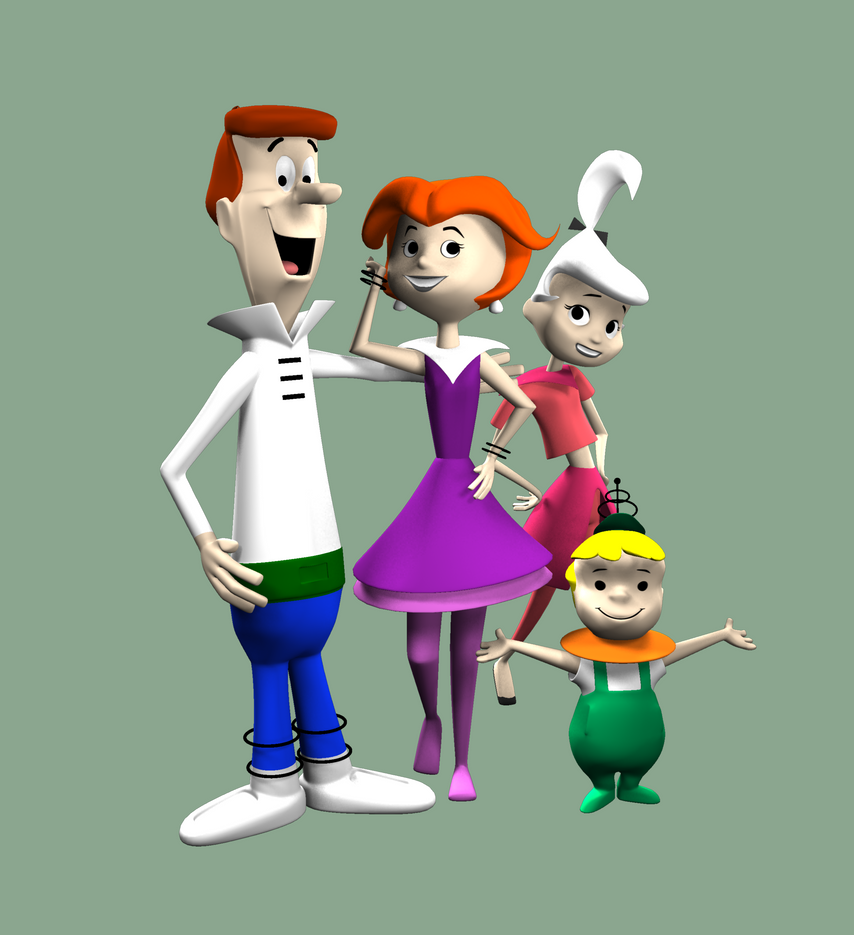 'The Jetsons' Family Picture by peterhirschberg