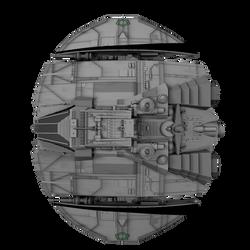 Cylon Raider 25 by peterhirschberg