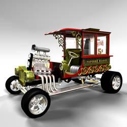 Popcorn Wagon 01