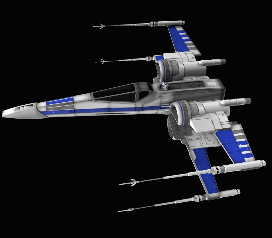 New X-Wing 03 by peterhirschberg