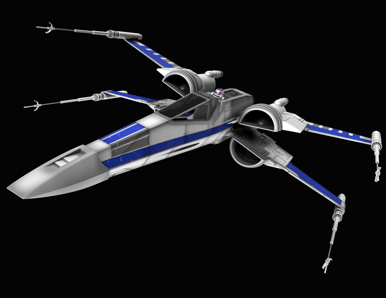 New X-Wing 02 by peterhirschberg