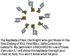 Ven's Keyblade by Nero-TH