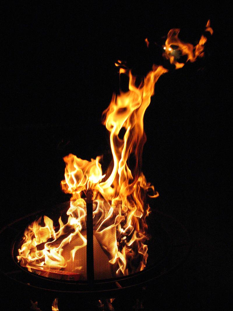 FIRE 1 by WarningStock