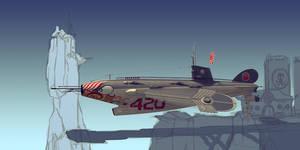 Flying submarine WIP