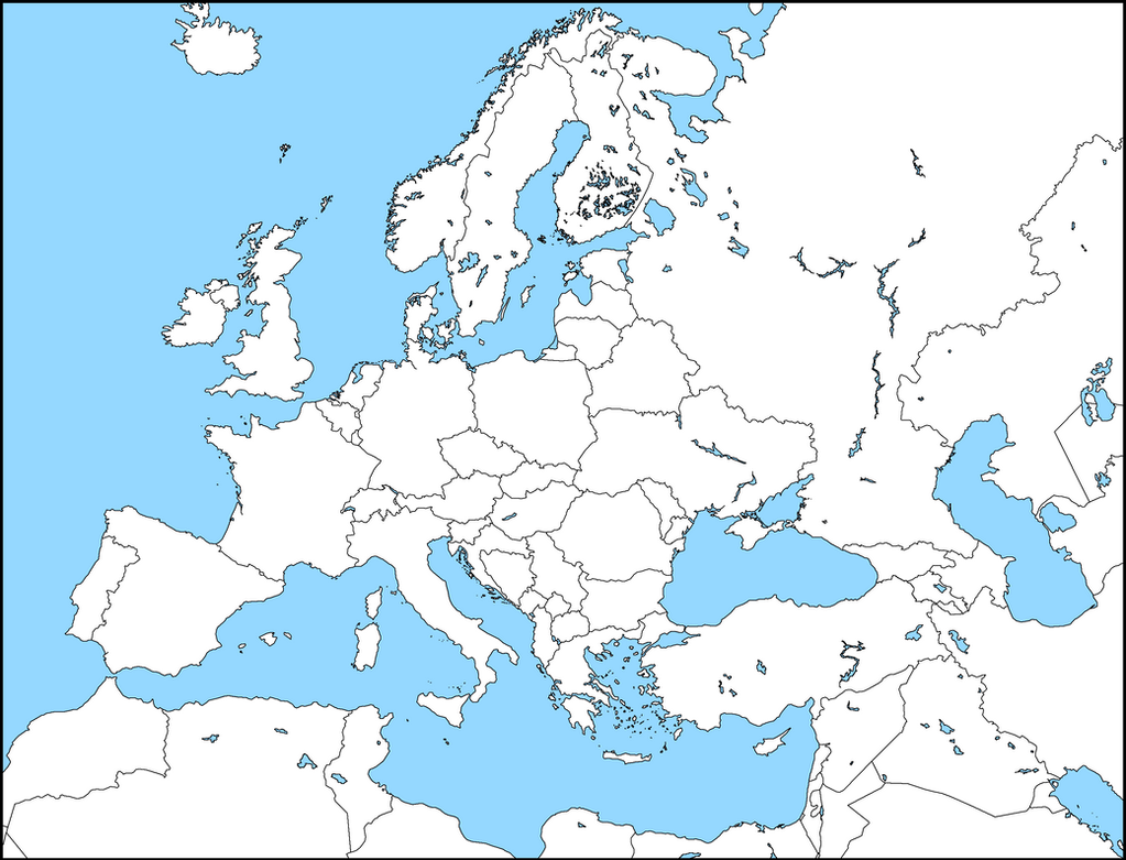 High Quality Mapping   Modern Europe [HD] By HarryM29 ...