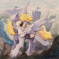Derpy delivery scots by Asssha