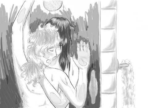 Shower Time ::Art Trade::