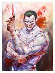 RIP Joker painted