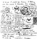 Letter Doolde Dracula Comic