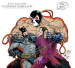 Bane Batman and Joker
