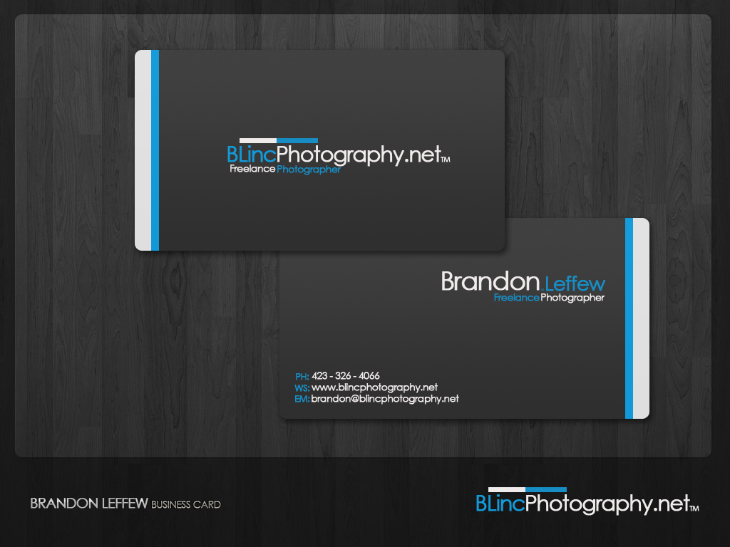 BLincPhotography Business Card by ThisModernDay on DeviantArt