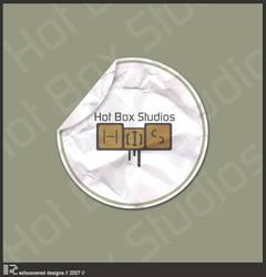 Hot Box Studios logo+sticker by ThisModernDay