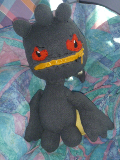 Banette plushie by Sabretooth-Fox