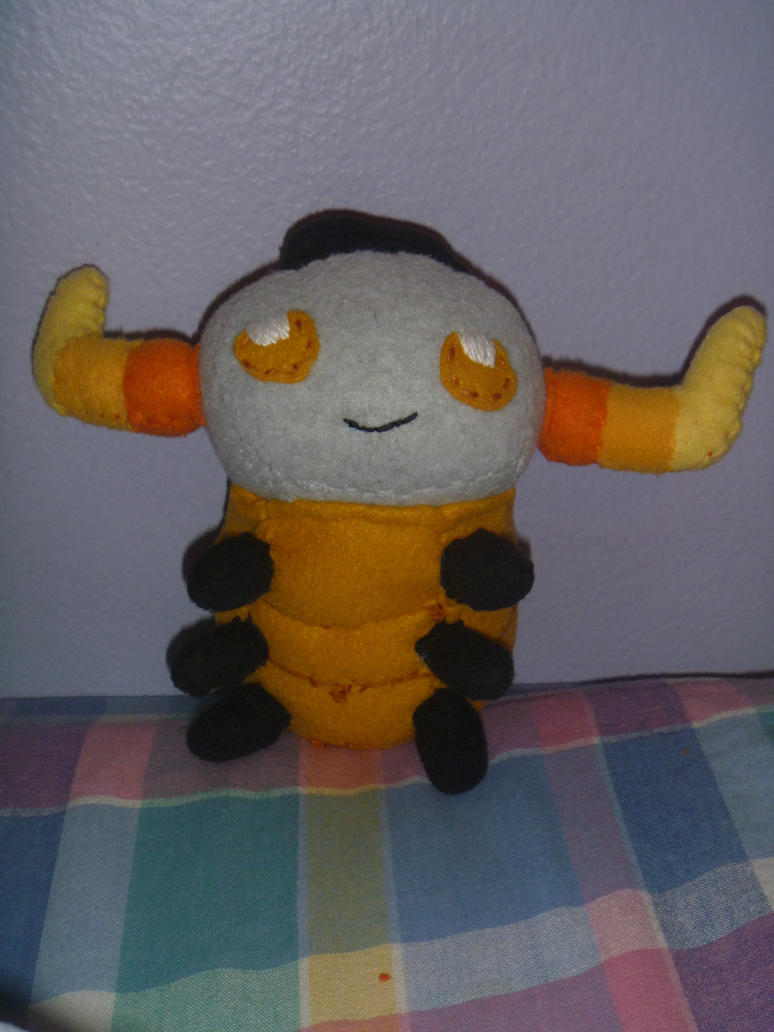 Tavros Grub Plushie by Sabretooth-Fox