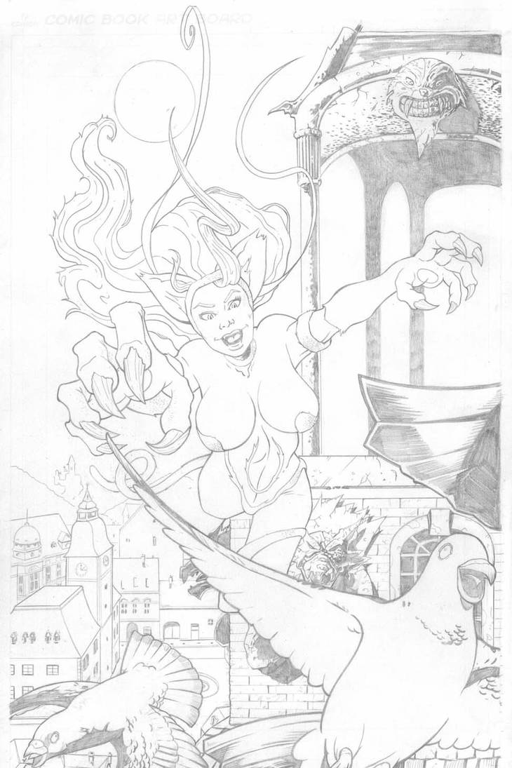 Felica sketch by Ralphious