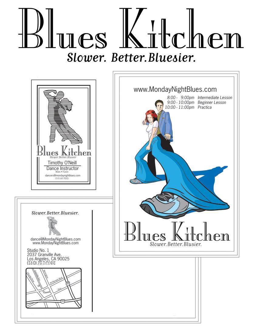 Blues Kitchen by Ralphious