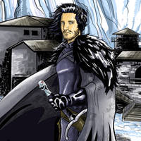 Jon Snow by Ralphious