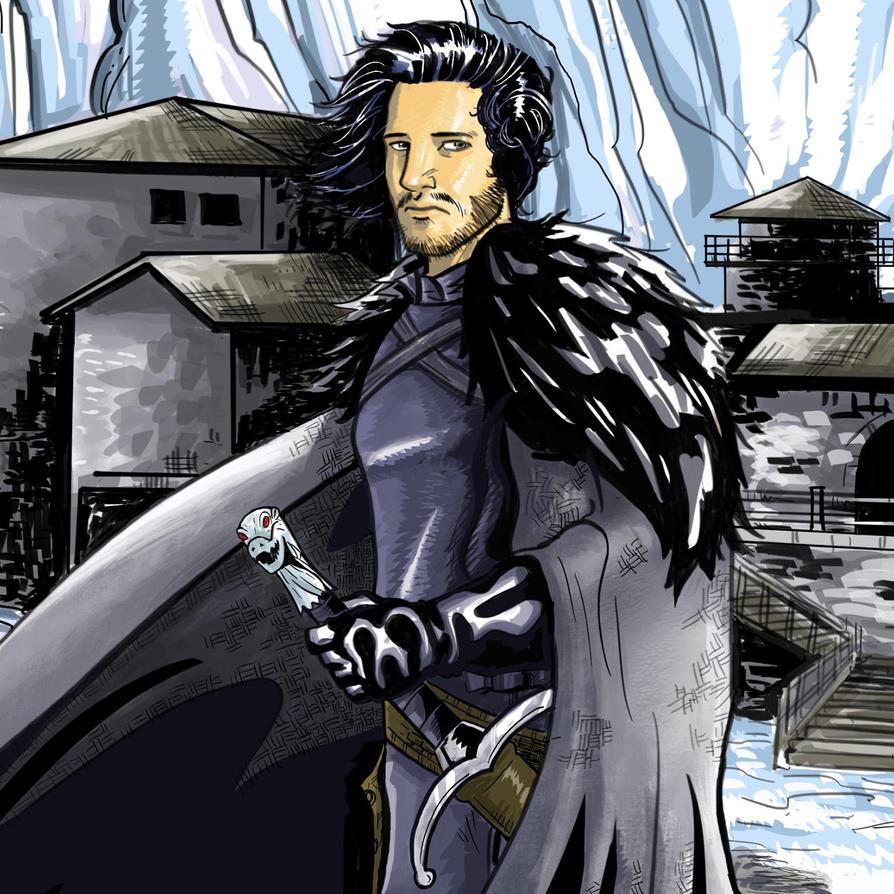 Jon Snow by Ralphious