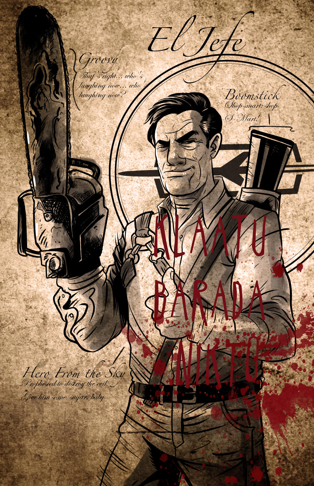 Ash Williams by Ralphious