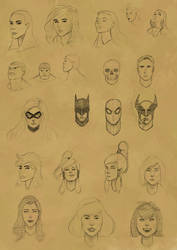 Faces Practice 8