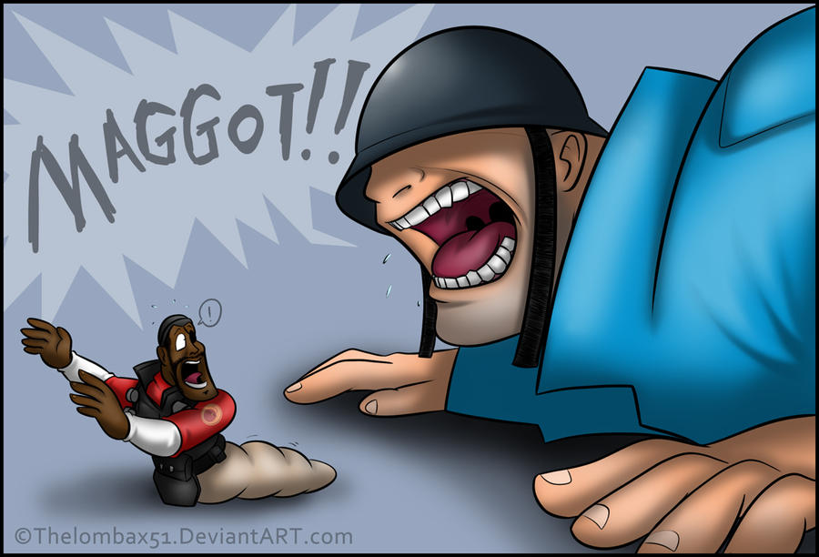 TF2 - MAGGOT by RatchetMario on DeviantArt I Am Painis Cupcake I Will Eat You