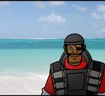 TF2 - Demoman At Sea Animated by RatchetMario
