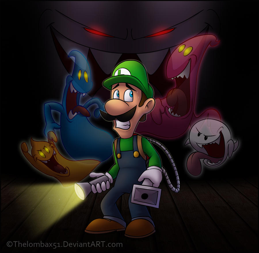 Luigi's Mansion by RatchetMario