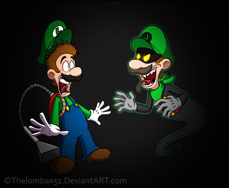 Luigi Find.... by RatchetMario