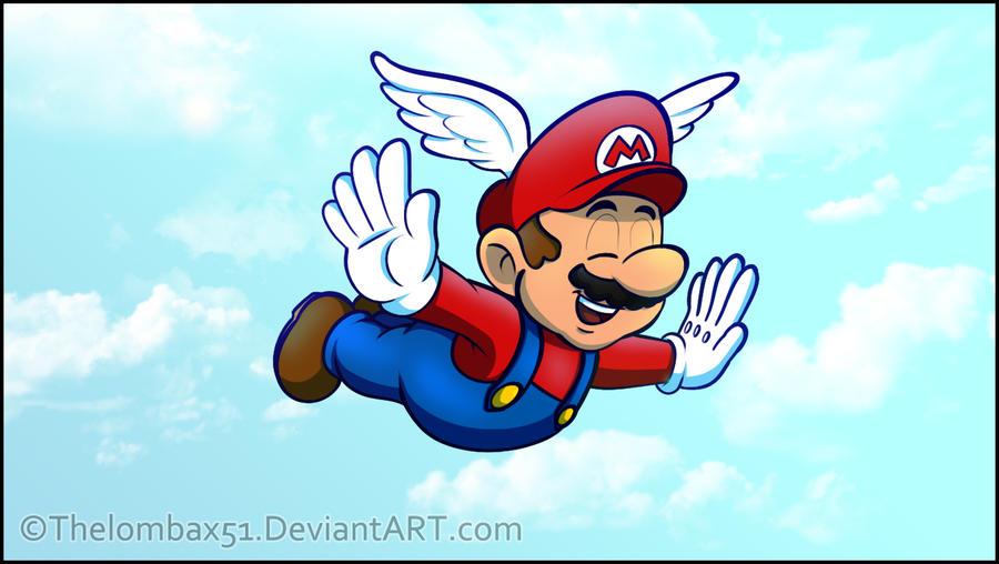 Mario 64 - Mario Believe Mario Can Fly by RatchetMario