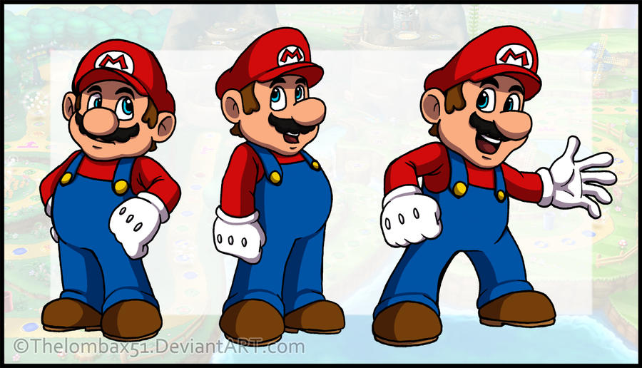 The Marios by RatchetMario