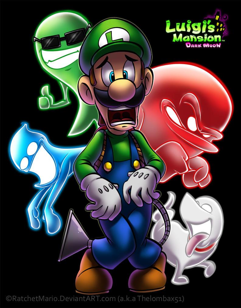 Luigi's Mansion - Dark Moon by RatchetMario
