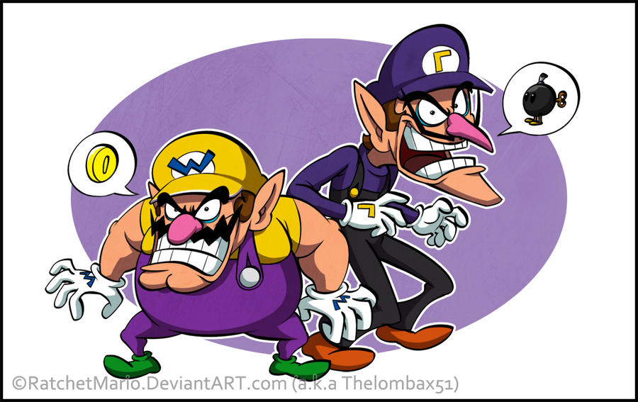 Wario And Waluigi ByWario And Waluigi Wallpaper