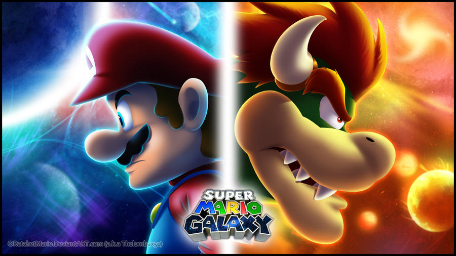 Super Mario Galaxy by RatchetMario