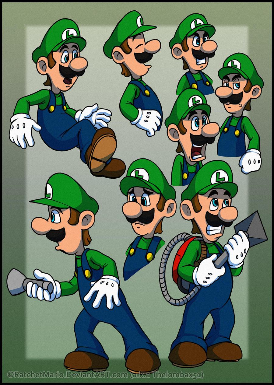 More Luigis by RatchetMario