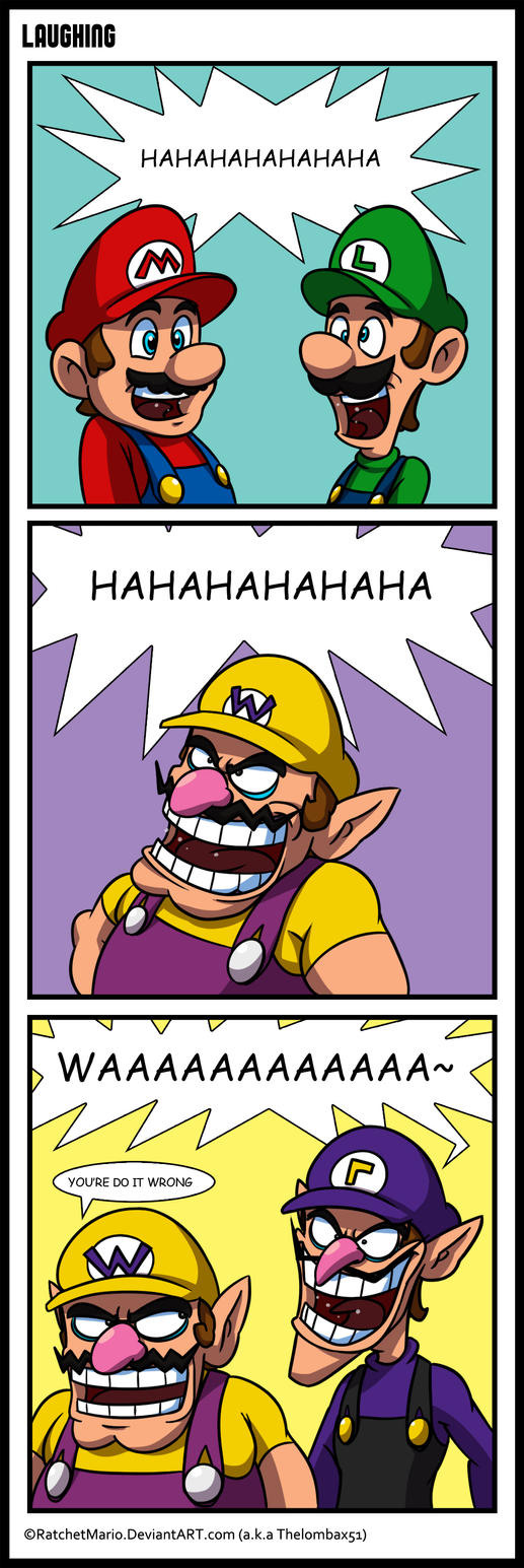 Comic - Laugh Plumbers by RatchetMario