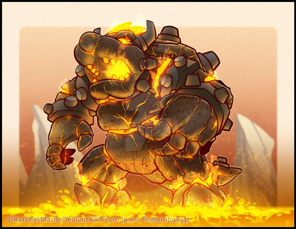 lava golem by mrnepa - photo #19