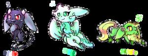 Pokemon Eevee Adopts